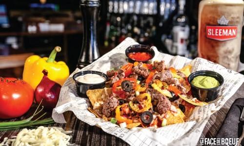 Le nachos Face de boeuf