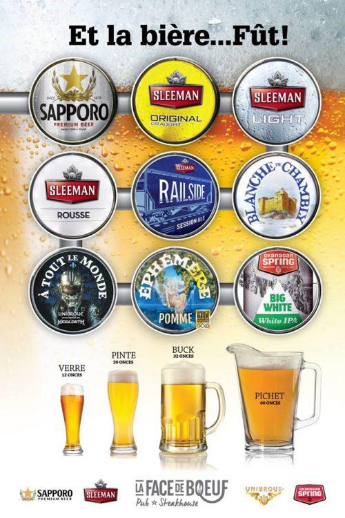 Sleeman, Sapporo et Unibroue; 9 fûts...pour tous les goûts!
